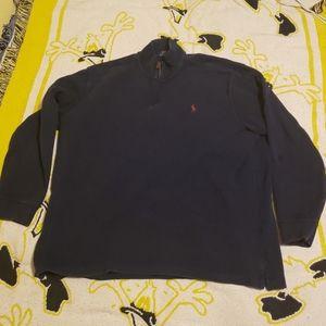 Polo Ralph Lauren Quarter Zip Sweater Pullover XXL